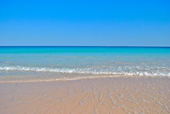 Gentle Waves On Perfect Caribbean Beach Royalty Free Stock Images
