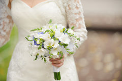 Gentle Wedding Bouquet Royalty Free Stock Image