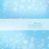 Gentle winter abstract background Royalty Free Stock Photo