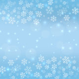 Gentle winter abstract background Stock Image