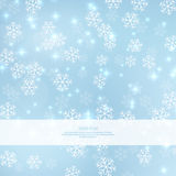 Gentle winter abstract background Stock Photo