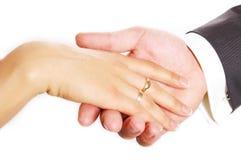 Gentleman. A gentleman hand kind gesture Stock Images