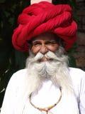 Gentleman at the Camel fair, Jaisalmer, India Stock Photos