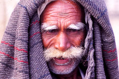 Gentleman at the Camel fair, Jaisalmer, India Royalty Free Stock Photography