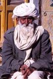 Gentleman at the Camel fair, Jaisalmer, India Stock Image