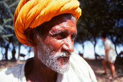 Gentleman at the Camel fair, Jaisalmer, India Royalty Free Stock Photography