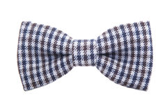 Gentleman dot bow tie isolated on white background Stock Photography
