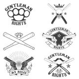 Gentleman rights Stock Photography