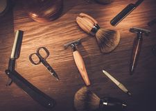 Gentleman's accessories on a luxury wooden  board. Gentleman's accessories on a luxury wooden board Stock Photography
