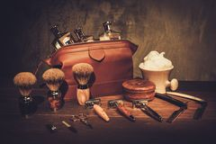 Gentleman's accessories on a luxury wooden  board. Gentleman's accessories on a luxury wooden board Stock Photos