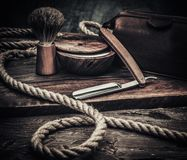Gentleman's accessories on a wooden board. Gentleman's accessories on a luxury wooden board Stock Photos