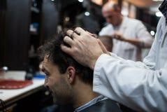 Gentleman's haircut Royalty Free Stock Image