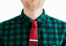 Gentleman with tie Royalty Free Stock Photo