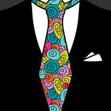 Gentleman tie. Pattern seamless texture Royalty Free Stock Photography