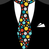 Gentleman tie Royalty Free Stock Photo