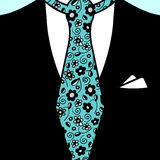 Gentleman tie Royalty Free Stock Image