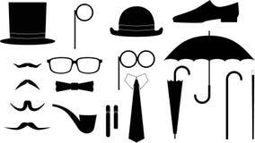 Gentleman tool kit. Royalty Free Stock Photo