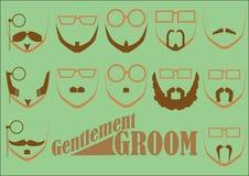 GentlemanBRUDGUM Arkivbild