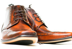Gentleman's Boots Royalty Free Stock Photography