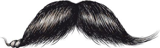 Gentlemans Mustache Stock Image