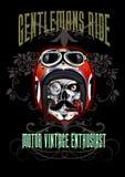 Gentlemans ride  skull Royalty Free Stock Image