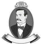 gentlemanvictorian Royaltyfria Bilder