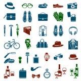 Gentlemen's accessories Stock Photos