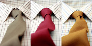 Gentlemens Shirts Royalty Free Stock Photography