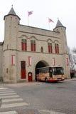 Gentpoort - Brugge, Бельгия стоковые изображения rf
