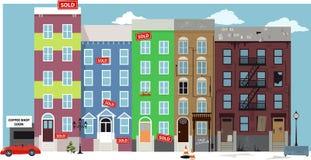 gentrification stock de ilustración