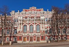 Gentry Assembly building (1877). Kursk, Russia Royalty Free Stock Photos