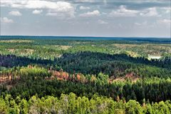 Free Gentry Outlook, Apache Sitgreaves National Forest, Arizona, United States Royalty Free Stock Photos - 123402858