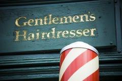 Gents fryzjer Zdjęcie Stock