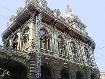 Genua, Börsegebäude, Seitenteil, Version 2 lizenzfreie stockfotografie