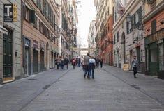 Genua Italië stock foto