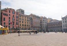 Genua Italië stock fotografie