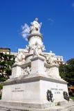GENUA, ITALIË - APRIL 28, 2017 - Monument aan Christopher Columbus stock fotografie