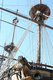 Genua, Italien 6. Juli 2014 Galeon Neptun Lizenzfreie Stockbilder