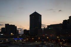 Genua, matitone Sonnenuntergang Lizenzfreies Stockfoto