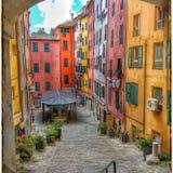 Genua-'s-Farbe Stockfotos