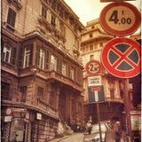 Genua-Straße Lizenzfreies Stockfoto