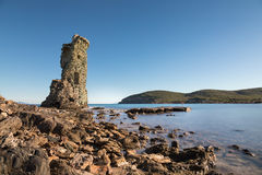 Genueńska wycieczka turysyczna De Santa Maria na nakrętce Corse w Corsica Obrazy Royalty Free