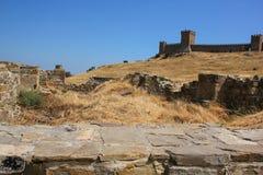 Genueński forteca Fotografia Stock