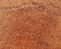 Genuine  grain leather closeup Royalty Free Stock Photos