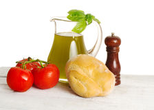 Genuine italian products Stock Photography