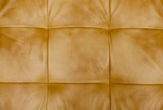 Genuine leather upholstery Royalty Free Stock Image