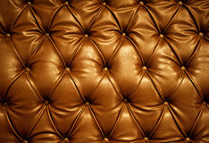 Genuine leather upholstery. Sepia picture of genuine leather upholstery Stock Photo