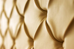 Genuine leather upholstery royalty free stock photography