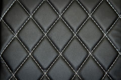 Genuine leather upholstery background for a luxury decoration Royalty Free Stock Images