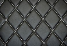 Genuine leather upholstery background Royalty Free Stock Image
